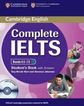 Complete IELTS Bands 6.5-7.5. Student's Book + Answers + CD-ROM - фото обкладинки книги