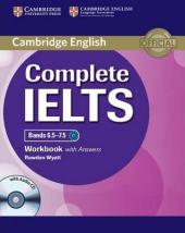 Complete IELTS Bands 6.5-7.5. Workbook + Answers + Audio CD - фото обкладинки книги