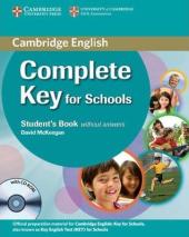 Complete Key for Schools. Pack: Student's Book + Workbook + CD (підручник+роб.зошит +диск) - фото обкладинки книги