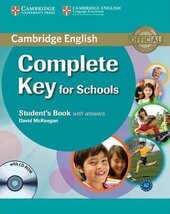 Complete Key for Schools. Student's Book with Answers with CD-ROM - фото обкладинки книги