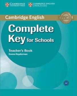 Complete Key for Schools. Teacher's Book - фото книги
