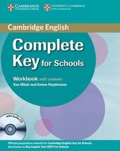 Complete Key for Schools. Workbook with answers with Audio CD - фото обкладинки книги