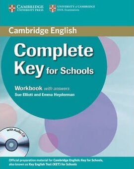 Complete Key for Schools. Workbook with answers with Audio CD - фото книги
