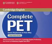 Complete PET. Class Audio CDs (комплект із 2 аудіодисків) - фото обкладинки книги