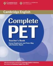 Complete PET. Teacher's Book - фото обкладинки книги