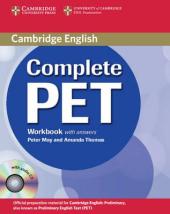 Complete PET. Workbook with answers with Audio CD - фото обкладинки книги
