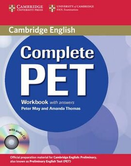 Complete PET. Workbook with answers with Audio CD - фото книги