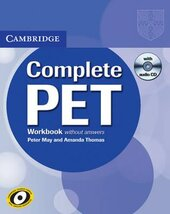 Complete PET. Workbook without answers with Audio CD - фото обкладинки книги
