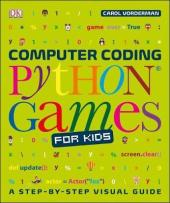 Computer Coding Python Games for Kids - фото обкладинки книги