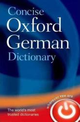 Concise Oxford German Dictionary - фото обкладинки книги