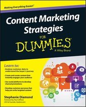 Content Marketing Strategies For Dummies - фото обкладинки книги
