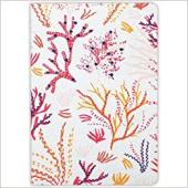 Coral Handmade Embroidered Journal - фото обкладинки книги