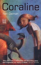 Coraline - фото обкладинки книги