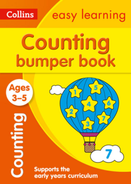 Посібник Counting Bumper Book Ages 3-5