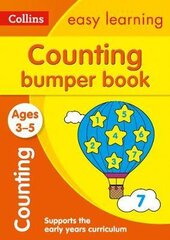 Counting Bumper Book. Ages 3-5 - фото обкладинки книги