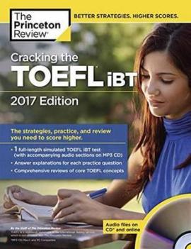 Підручник Cracking the TOEFL Ibt with Audio CD