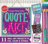 Книга Create Your Own Quote Art