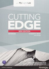 Cutting Edge 3rd ed Advanced Student's book+DVD+MyLab Access (підручник+аудіодиск) - фото обкладинки книги