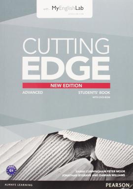 Cutting Edge 3rd ed Advanced Student's book+DVD+MyLab Access (підручник+аудіодиск) - фото книги
