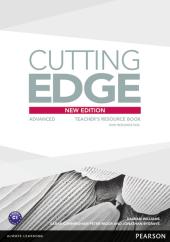 Cutting Edge 3rd Edition Advanced Teacher's Book with CD (книга вчителя) - фото обкладинки книги