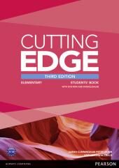Cutting Edge 3rd Edition Elementary Students' Book with DVD and MyEnglishLab (підручник) - фото обкладинки книги