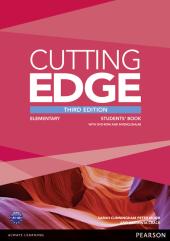 Cutting Edge 3rd Edition Elementary Students' Book (with DVD) (підручник) - фото обкладинки книги