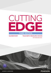 Cutting Edge 3rd Edition Elementary Teacher's Book with CD-ROM (книга вчителя) - фото обкладинки книги
