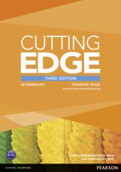 Cutting Edge 3rd Edition Intermediate Students' Book with DVD + MyEnglishLab (підручник) - фото обкладинки книги