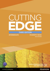 Cutting Edge 3rd Edition Intermediate Students' Book with DVD (підручник) - фото обкладинки книги