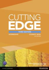 Cutting Edge 3rd Edition Intermediate Students' Book with DVD (підручник) - фото обкладинки книги