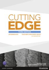 Cutting Edge 3rd Edition Intermediate Teacher's Book with CD-ROM (книга вчителя) - фото обкладинки книги