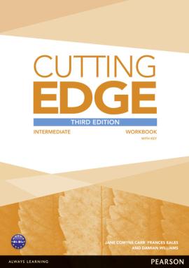 Cutting Edge 3rd Edition Intermediate Workbook with Key - фото книги