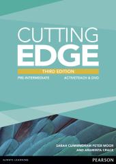 Cutting Edge 3rd Edition Pre-intermediate Active Teach CD-ROM (інтерактивний курс) - фото обкладинки книги