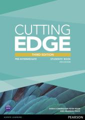 Cutting Edge 3rd Edition Pre-intermediate Students' Book with DVD (підручник) - фото обкладинки книги