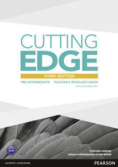 Cutting Edge 3rd Edition Pre-intermediate Teacher's Book with CD-ROM (книга вчителя) - фото обкладинки книги