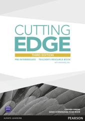 Cutting Edge 3rd Edition Pre-intermediate Teacher's Book with CD-ROM (книга вчителя) - фото обкладинки книги