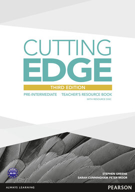 Cutting Edge 3rd Edition Pre-intermediate Teacher's Book with CD-ROM (книга вчителя) - фото книги