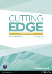 Cutting Edge 3rd Edition Pre-intermediate Workbook (with Key) - фото обкладинки книги