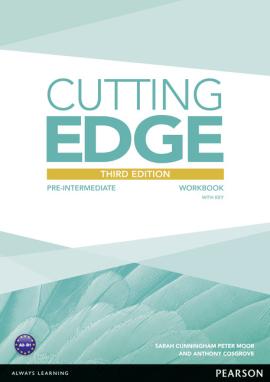 Cutting Edge 3rd Edition Pre-intermediate Workbook (with Key) - фото книги