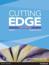 Cutting Edge 3rd Edition Starter Students' Book and DVD Pack (підручник) - фото обкладинки книги