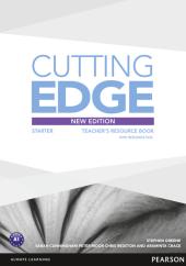 Cutting Edge 3rd Edition Starter Teacher's Book with CD (книга вчителя) - фото обкладинки книги
