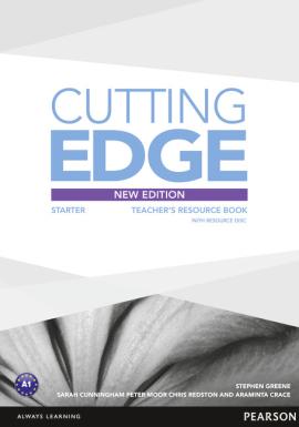 Cutting Edge 3rd Edition Starter Teacher's Book with CD (книга вчителя) - фото книги
