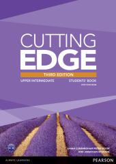 Cutting Edge 3rd Edition Upper Intermediate Students' Book with DVD (підручник) - фото обкладинки книги