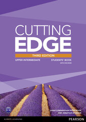 Cutting Edge 3rd Edition Upper Intermediate Students' Book with DVD (підручник) - фото обкладинки книги