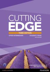 Cutting Edge 3rd Edition Upper Intermediate Students' Book with MyEnglishLab (підручник) - фото обкладинки книги