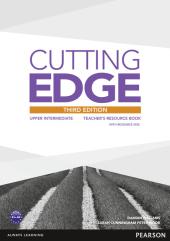Cutting Edge 3rd Edition Upper Intermediate Teacher's Book with CD-ROM (книга вчителя) - фото обкладинки книги