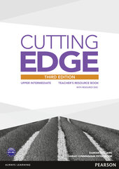 Cutting Edge 3rd Edition Upper Intermediate Teacher's Book with CD-ROM (книга вчителя) - фото обкладинки книги