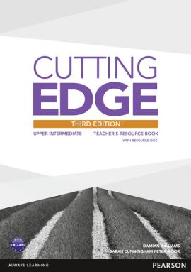 Cutting Edge 3rd Edition Upper Intermediate Teacher's Book with CD-ROM (книга вчителя) - фото книги