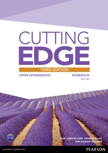 Робочий зошит Cutting Edge 3rd Edition Upper Intermediate Workbook with Key
