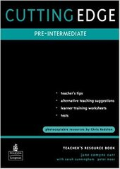 Cutting Edge Pre-Intermediate Teachers Book - фото обкладинки книги